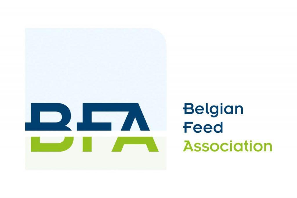 Loga Belgian Feed Association voor kwaliteitsvolle dieren voeders